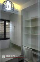 中海御景湾 88平方 A1户型装修完工图现代卧室装修图片