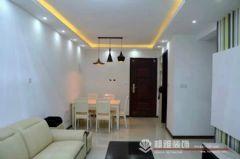 中海御景湾 88平方 A1户型装修完工图现代客厅装修图片
