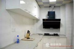 中海御景湾 88平方 A1户型装修完工图现代厨房装修图片