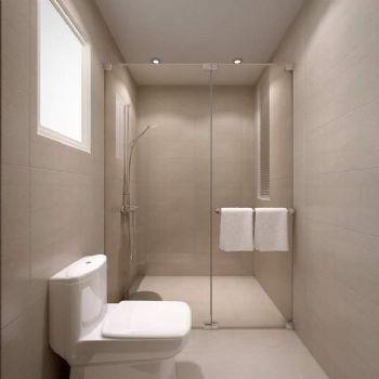 93平简约温暖家简约卫生间装修图片