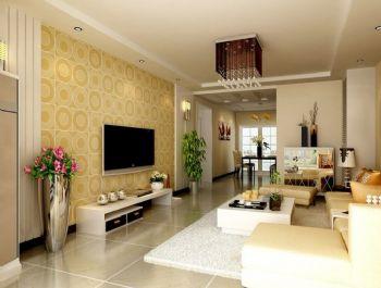 电视背景墙装修效果图现代客厅装修图片