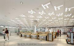 商场设计效果图|时尚韵味商场设计效果图