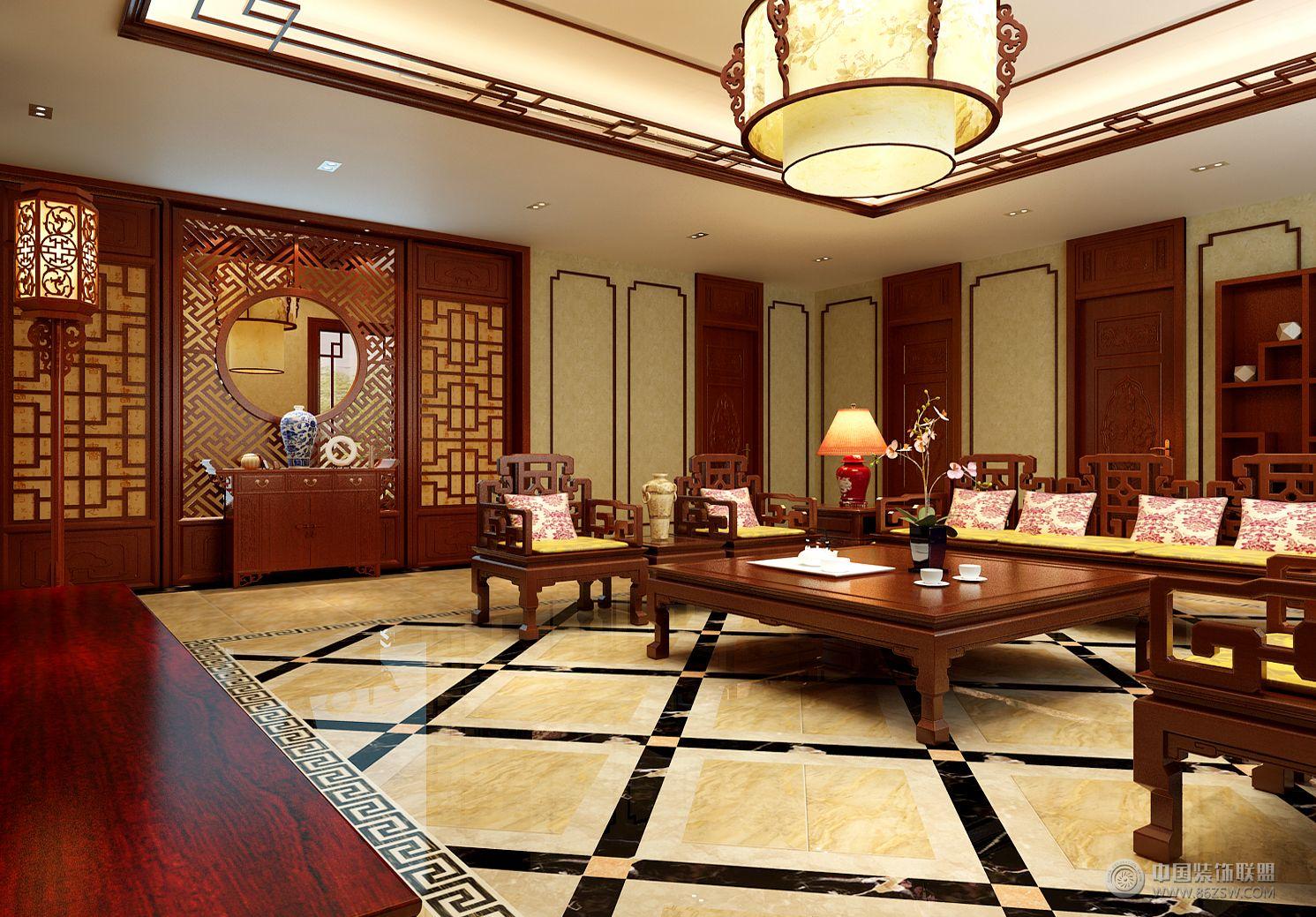 京科苑小区现代客厅装修图片