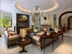 成都尚層裝飾別墅裝修歐美風格案例欣賞(十)