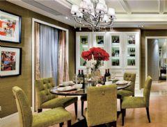 远洋庄园武汉尚层装饰别墅设计展现代卧室装修图片