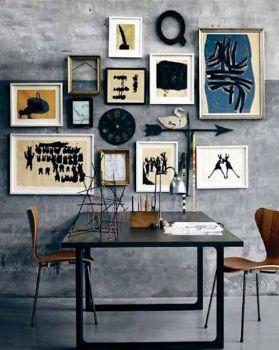 照片墙装修效果图现代客厅装修图片