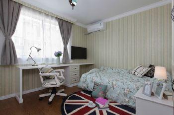 103平新中式装修案例中式卧室装修图片