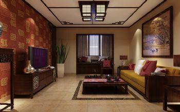 120平三居中式风格