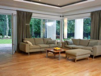 地板装修效果图现代客厅装修图片