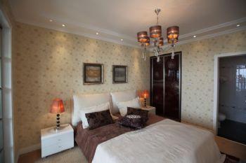 140平现代与法式田园的混搭风格混搭卧室装修图片