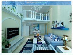地中海风情地中海客厅装修图片