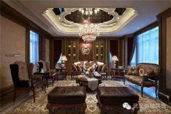 汉街壹号公馆软装配饰方案混搭风格公寓