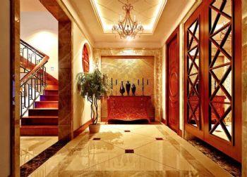 地板砖装修效果图现代过道装修图片