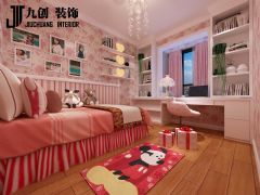 滨西花园现代简约卧室装修图片