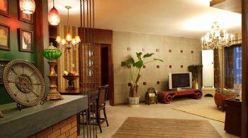 东南亚设计风格案例东南亚客厅装修图片