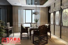 超凡脱俗的中式别墅装修设计中式餐厅装修图片