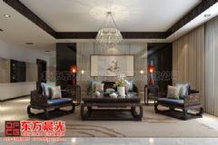 超凡脱俗的中式别墅装修设计中式客厅装修图片