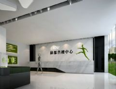 绿都广场售楼部装饰项目售楼部装修图片