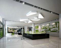 绿都广场售楼部装饰项目