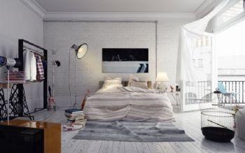 卧室装修效果图田园卧室装修图片