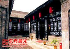 中式装修风格优雅四合院设计中式其它装修图片