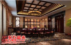 中式餐饮会所装修设计-东方晨光会所装修图片