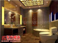 中式风格别墅装修设计与美同居中式卫生间装修图片