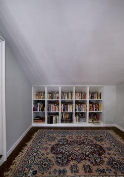 书房装修效果图简约书房装修图片