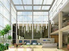 洛阳第一大街售楼处装饰项目售楼部装修图片