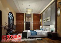 中式别墅装修设计展示盎然生机中式卧室装修图片