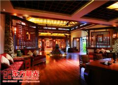 中式风格酒店会所装修设计酒店装修图片