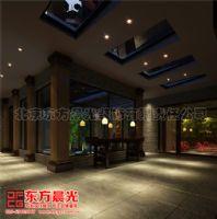 老北京四合院装修设计雅韵犹存中式过道装修图片
