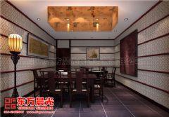 茶餐厅会所中式装修设计会所装修图片