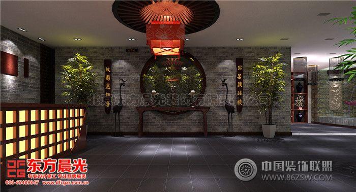 茶餐厅会所中式装修设计-会所装修图片