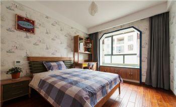132平中式美居装修案例中式卧室装修图片