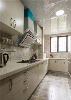 132平中式美居装修案例中式厨房装修图片