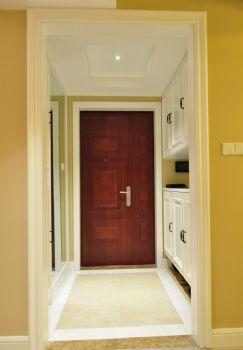 132平中式美居装修案例中式过道装修图片