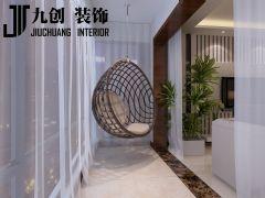 恒大绿洲现代简约客厅装修图片