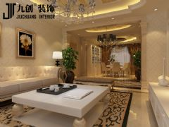 阳光汾河湾欧式客厅装修图片