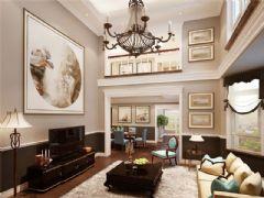 成都尚层装饰别墅装修设计师推荐欧美风格案例欣赏(十二)美式风格复式