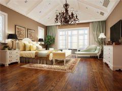 成都尚层装饰别墅装修设计师推荐欧美风格案例欣赏(十二)美式卧室装修图片