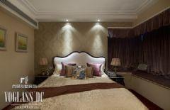 【武汉尚层装饰】美式新古典软装配饰设计美式卧室装修图片