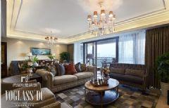 【武汉尚层装饰】美式新古典软装配饰设计美式风格公寓