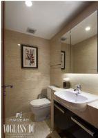 【武汉尚层装饰】美式新古典软装配饰设计美式卫生间装修图片
