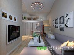 85平现代风格二室二厅—芜湖宅速美现代客厅装修图片