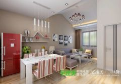 85平现代风格二室二厅—芜湖宅速美现代厨房装修图片
