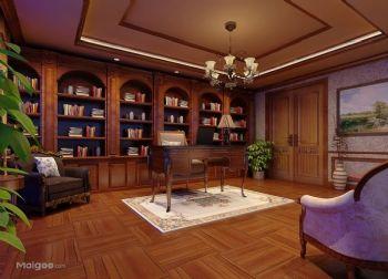 书房装修效果图现代书房装修图片