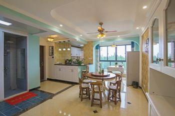 140平现代简约装修案例现代厨房装修图片
