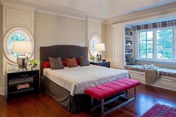 飘窗装修效果图简约卧室装修图片