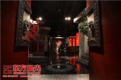 中式设计茶楼会所装修气宇非凡会所装修图片